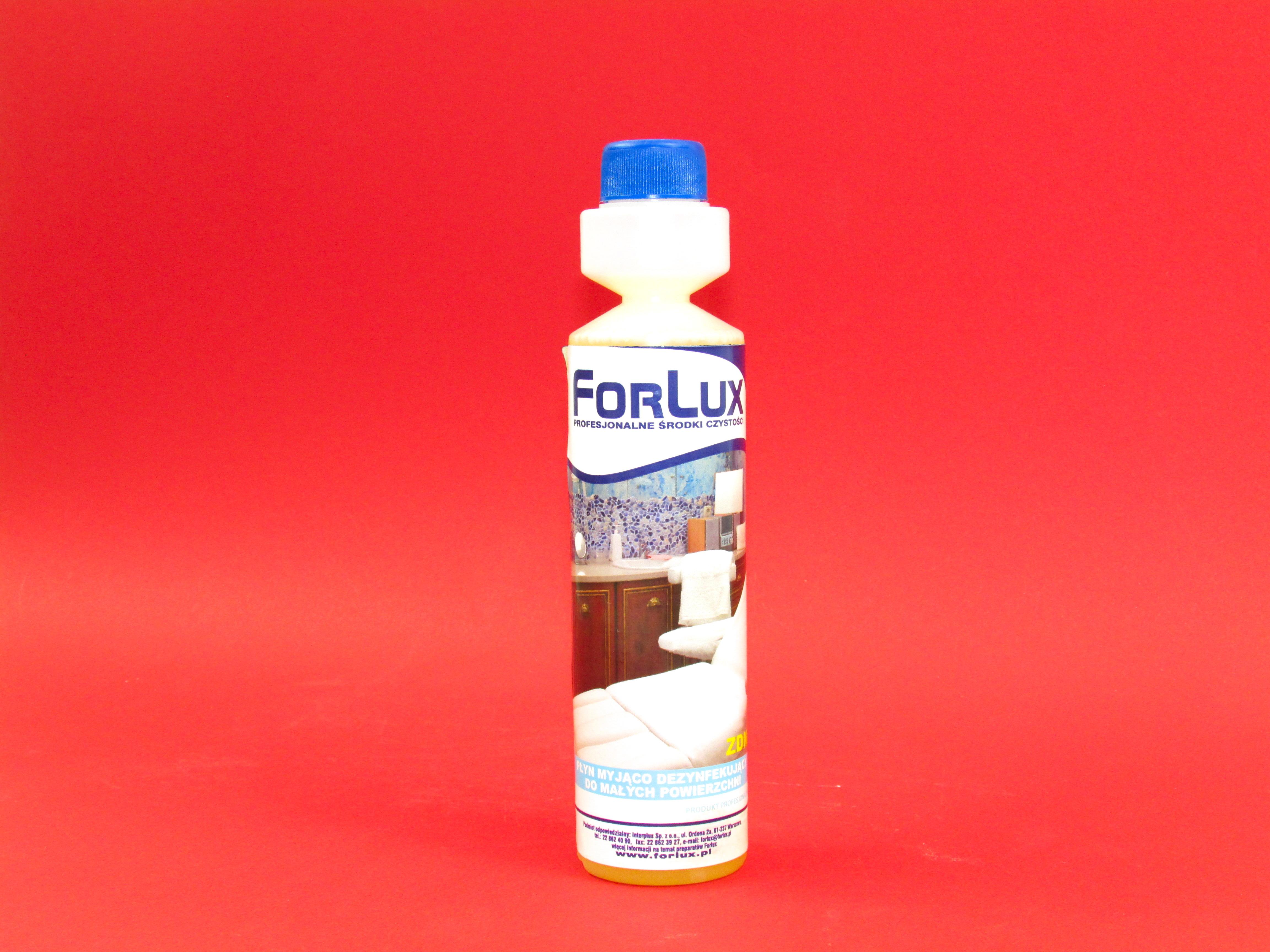 Preparat do mycia i dezynfekcji małych powierzchni Forlux 250 ml